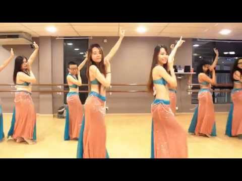 "Belly Dance Class ""Habibi Ya Eini"" Choreography @ DancePot, KL"