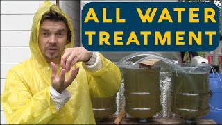 Lesson - Drinking & waste water in an eco home - recycling waste water & pure living water filter