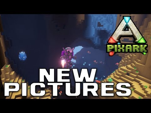New Screenshots | Power Generation, Caves, And Combat | PixArk Information