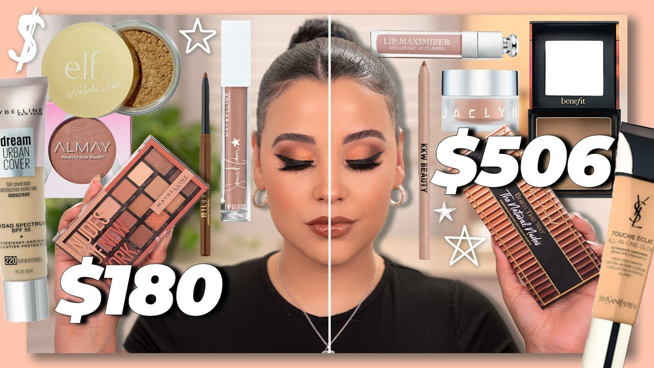 Full Face of New Affordable Dupes for High-End Makeup 2020!