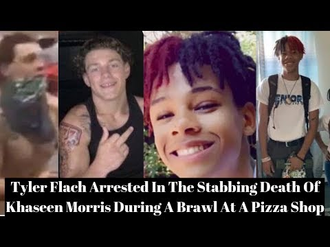 Tyler Flach Arrested In The Stabbing Death Of Khaseen Morris During A Brawl At A Pizza Shop