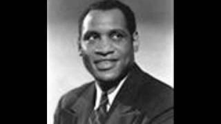 PAUL ROBESON- SONG OF THE PLAINS