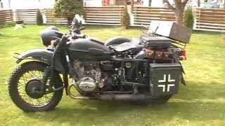 Ural 650 Kaltstart und Ansicht