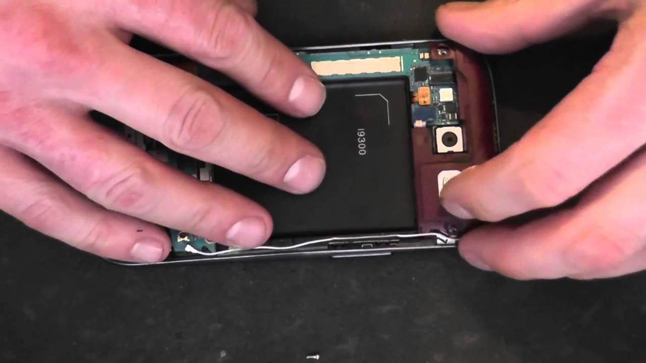 Samsung galaxy s3 touch screen not working after drop