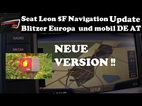 seat leon 5f navigation update blitzer europa und mobil. Black Bedroom Furniture Sets. Home Design Ideas