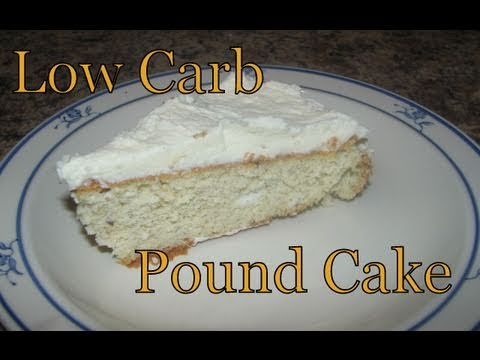 Atkins Diet Recipes Low Carb Pound Cake EIF YouTube