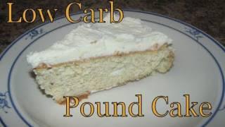 Atkins Diet Recipes: Low Carb Pound Cake (E-IF)