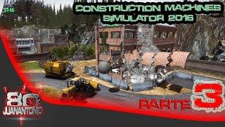 Construction Machines Simulator 2016 parte 3