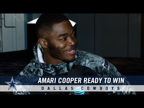 Wide Receiver Amari Cooper Is Ready To Win | Dallas Cowboys 2018