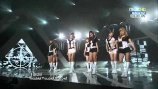 Tiffany(黃美英)受傷缺席♥少女時代소녀시대SNSD Girl's generation♥ ♡Ta...
