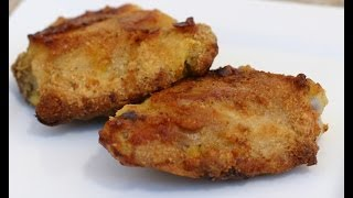 Parmesan Crusted Baked Chicken Thighs - Easy Recipe By Rockin Robin