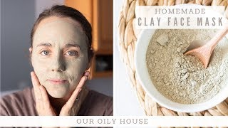 Bentonite Clay Face Mask Recipe | CLAY MASK FOR FACE | Benefits of Clay for Skin