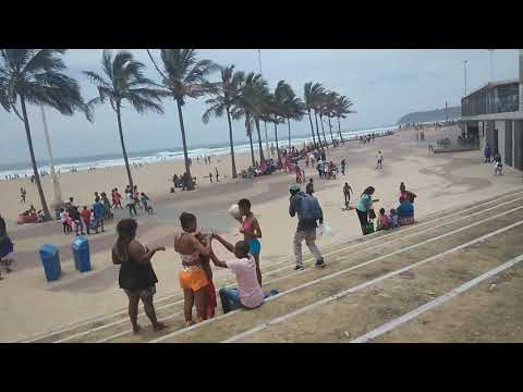 DURBAN SOUTH BEACH SOUTH AFRICA IN THE SAND HOLIDAY 2018