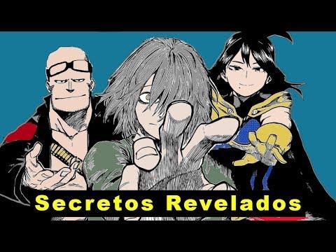 LOS ANTIGUOS PORTADORES DEL ONE FOR ALL - BOKU NO HERO ACADEMIA secretos y curiosidades