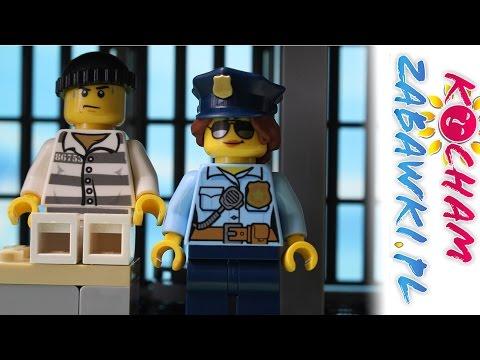 Lego City Policja Posterunek Policji Bajki Dla Dzieci Youtube