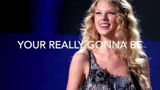 Stay Beautiful- Taylor Swift Lyrics :)