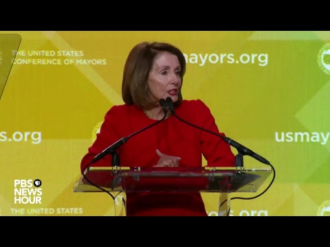 WATCH LIVE: House Speaker Nancy Pelosi addresses the United States Conference of Mayors