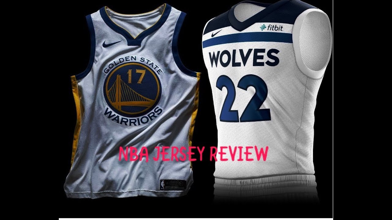 NBA JERSEY REVIEW! - YouTube 828bb8130