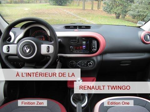 A l\'intérieur de la Renault Twingo - YouTube