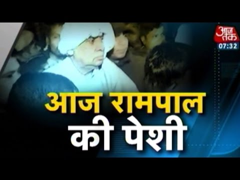 Sant Rampal to be presented before court today