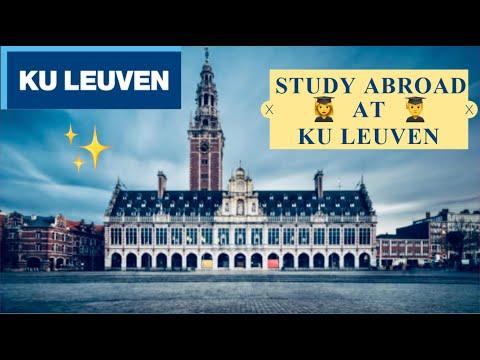 STUDYING ABROAD at KU Leuven University in Belgium | FAQ | Scholarships? Exams? Admission? Jobs? 📚