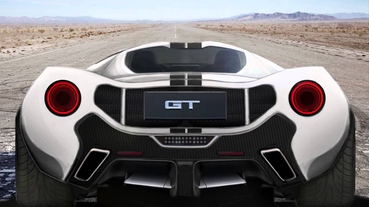 2017 ford gt40 concept sketchspyderrios - youtube