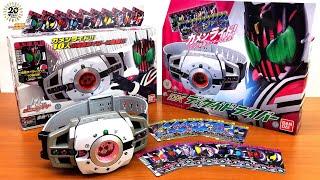【悲報】仮面ライダーディケイド 変身ベルトver.20th DXディケイドライバー 比較 レビュー 音声 kamen rider decade henshin belt dx decadriver