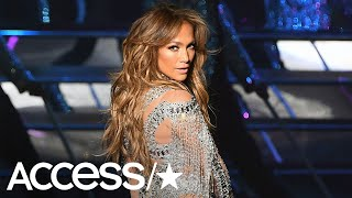 Jennifer Lopez Reveals She's Hooked Up In Her Trailer On Set! | Access