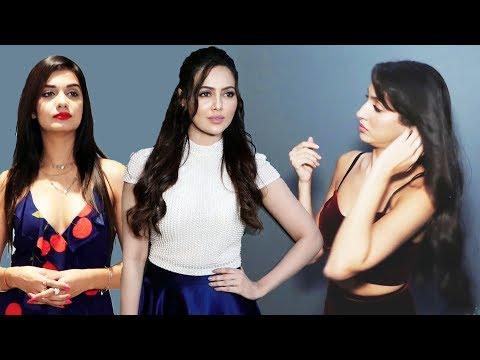 Sana Khan, Nora Fatehi, Divya Agarwal At Andhadhun Movie tion