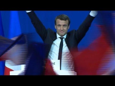 Le Pen y Macron a segunda vuelta de presidenciales en Francia