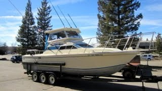1982 28 foot Skipjack Custom Pilothouse Sport Cruiser Fishing Boat on GovLiquidation.com