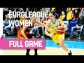 ZVVZ USK Praha (CZE) v UMMC Ekaterinburg (RUS) - Full Game - Group B - 2015-16 EuroLeague Women