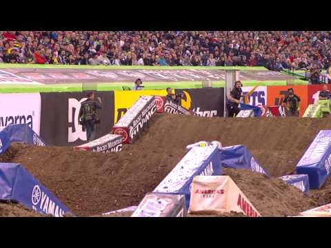 Race Day LIVE - 2015 Indianapolis Round 11 - 250SX Highlights