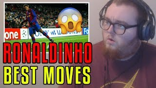 HE LITERALLY HIT IT WITH HIS BACK! | Ronaldinho: 14 Ridiculous Tricks That No One Expected REACTION!