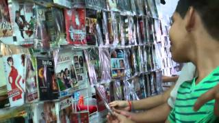 Family Trip to a Local DVD Store - Iguala, Mexico