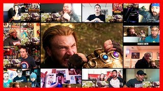 AVENGERS INFINITY WAR Trailer Reaction Mashup