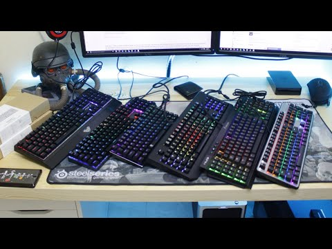 RGB Mechanical Keyboards - The Fight Between Chinese and Mainstream Brands!
