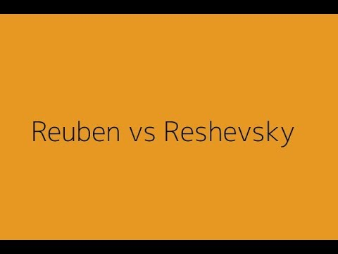 Famous Chess Game: Reuben Fine vs Samuel Reshevsky | USA Cha