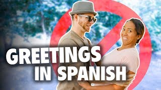 Greetings and Goodbyes in Spanish