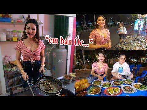 Rụng tim với Hotgirl chủ quán ốc xinh đẹp nhất Sài Gòn với cách chế biến ốc bình dân ngon lạ