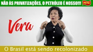 NÃO ÀS PRIVATIZAÇÕES, O PETRÓLEO É NOSSO!!!