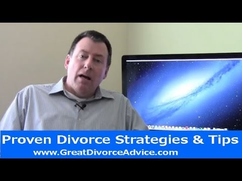 Divorce Strategies for Men - The Critical Piece To Winning Your Divorce