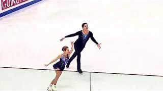 Дарья Павлюченко и Денис Ходыкин Фигурное катание прямая трансляция