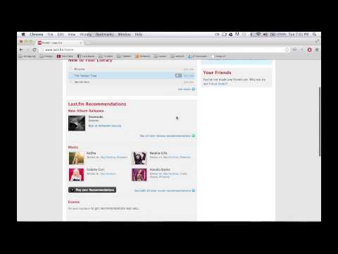 How to use Last.fm