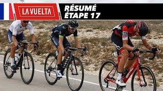 Résumé - Étape 17 - La Vuelta 2017
