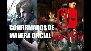 Resident Evil 4,Zero y Remake para Switch Confirmados por Capcom