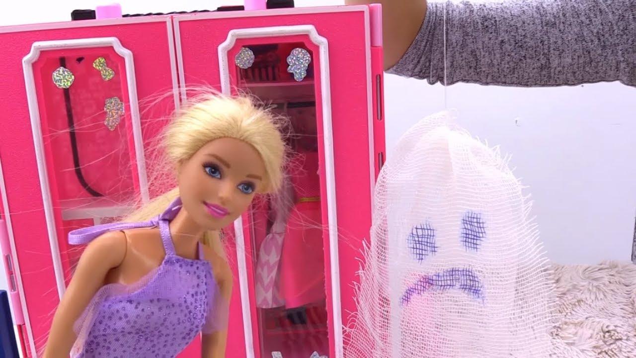 Готовимся к Хэллоуину с Кеном и Барби. Играем с куклами ...