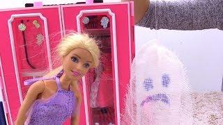 Готовимся к Хэллоуину с Кеном и Барби. Играем с куклами