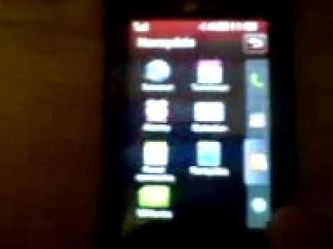 LG KP500 menu