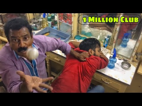 World's Greatest Head Massage (Face Massage) Part 1 - Baba The Cosmic Barber & Puremassage